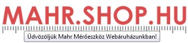 Üdvözöljük Mahr Mérőeszköz Webáruházunkban!